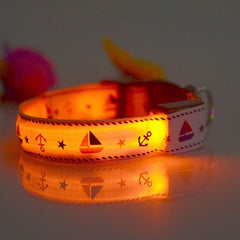 Polyester LED Pet Collars