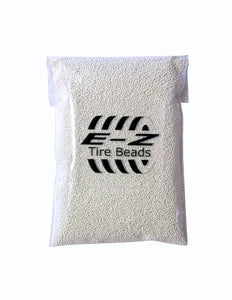 E-Z Tire Beads - 1 Bag of 2 Ounces - Premium Ceramic Dynamic Balancing Beads