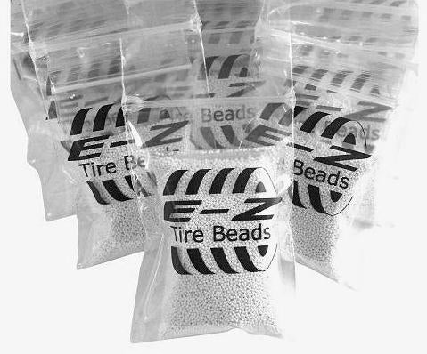 E-Z Tire Beads - Case of 24 Individual 5-Ounce Bags - Bulk Packaging
