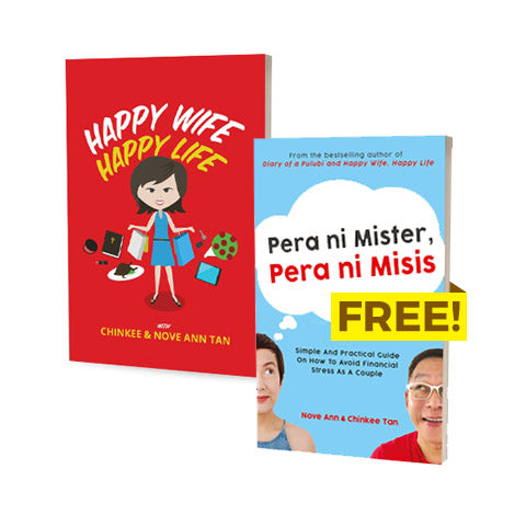 Happy Wife Happy Life with FREE Pera ni Mister Pera ni Misis