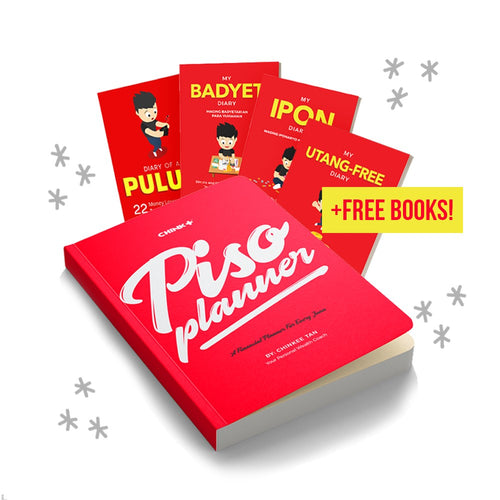 Piso Planner + 4 FREE Diary Books