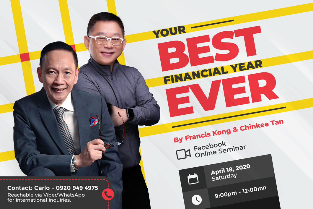 YOUR BEST FINANCIAL YEAR EVER ONLINE SEMINAR
