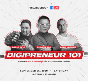 DIGIPRENEUR 101: How To Generate Multiple Income Streams Using The Internet