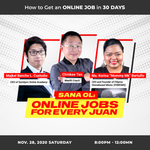 Load image into Gallery viewer, Sana OL: Online Job for Every Juan