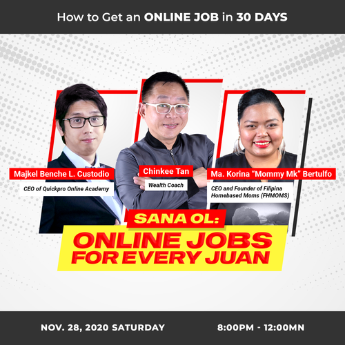 Sana OL: Online Job for Every Juan
