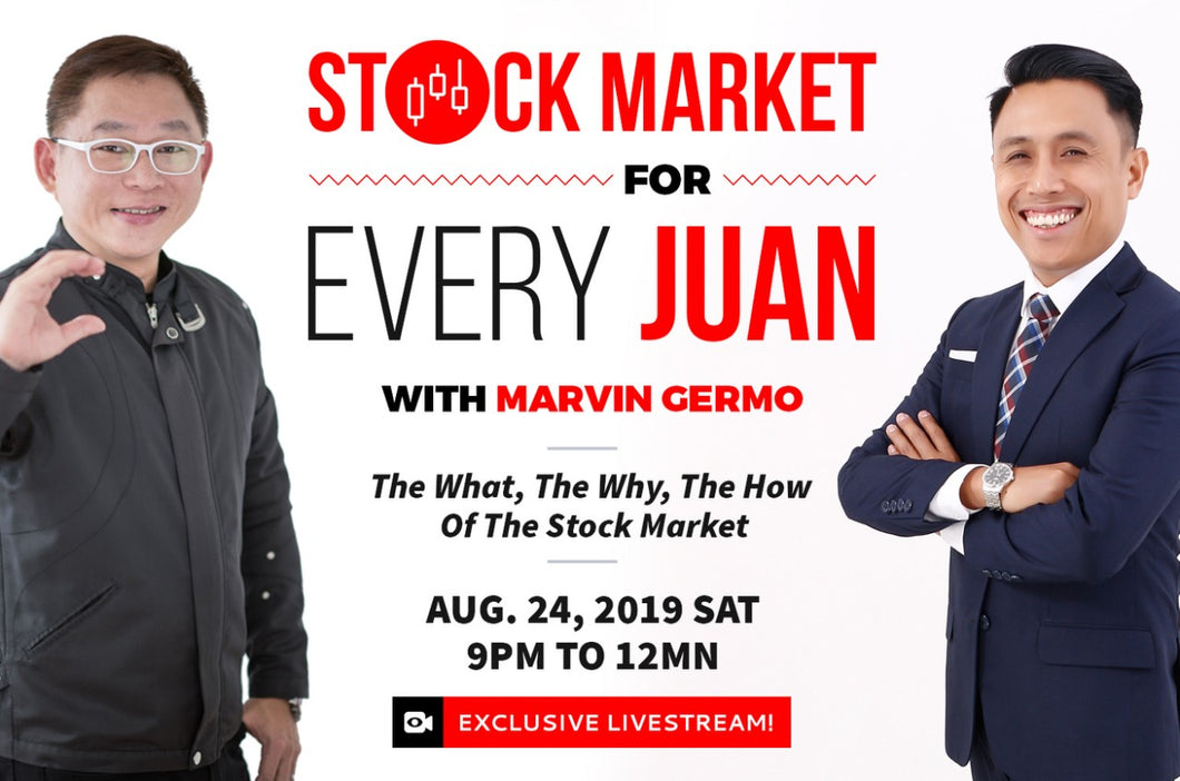 Stock Market for Every Juan with Marvin Germo