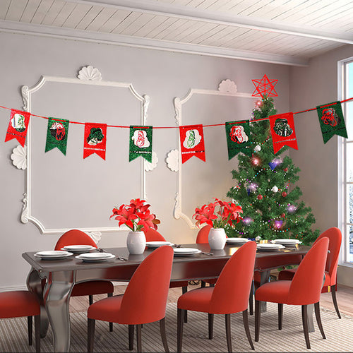 Christmas Party Decoration Home Bunting