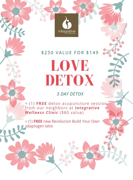 3 Day Love Detox available until April 15!