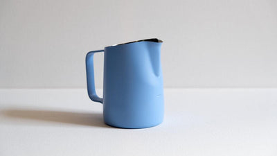 15oz SLOW POUR SUPPLY PITCHER WITH WIDE SPOUT IN PERIWINKLE