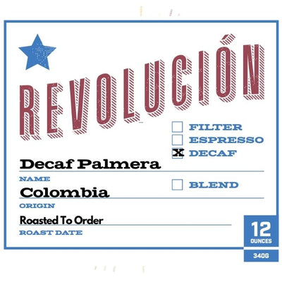 Decaf Colombia Palmera
