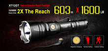 Load image into Gallery viewer, Klarus XT12GT hunting torch kit & accessories / 1600 LM 4000K temp 603 Meter throw