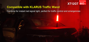 Klarus XT12GT hunting torch kit & accessories / 1600 LM 4000K temp 603 Meter throw