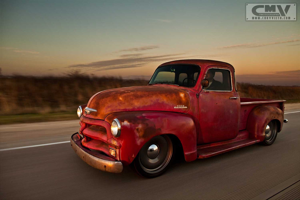 1954 Chevrolet Red 5 Window LS2