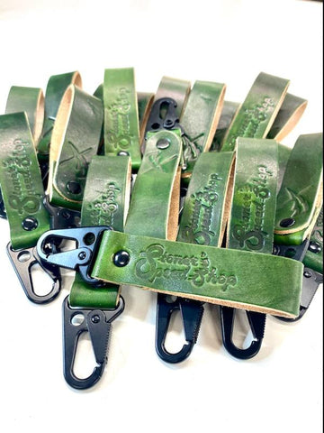 Green Stoner's Speed Shop Keychain by DeVille