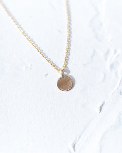 14k Gold Charm Necklace - READY TO SHIP
