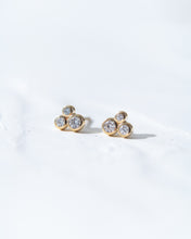 Load image into Gallery viewer, Diamond Cluster Earrings - READY TO SHIP