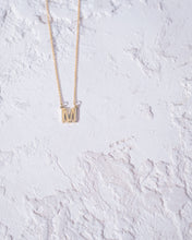 Load image into Gallery viewer, 'M' Letter Necklace - READY TO SHIP