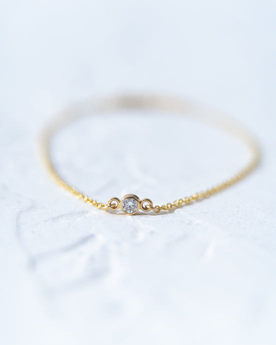 Petite Diamond Bracelet - READY TO SHIP