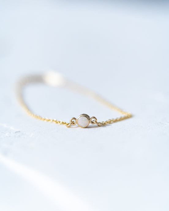 Petite Opal Bracelet - READY TO SHIP