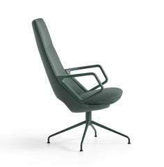 Zuma High Back Swivel Armchair by Artifort - Bauhaus 2 Your House