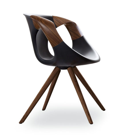 Up Chair with Wood Arms (917.11) by Tonon - Bauhaus 2 Your House