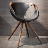 Up Chair with Wood Arms by Tonon - Bauhaus 2 Your House