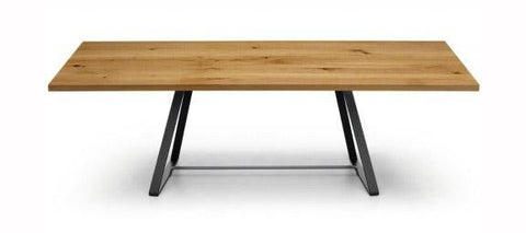Alfred Dining Table (Wood Top Version) by Midj - Bauhaus 2 Your House
