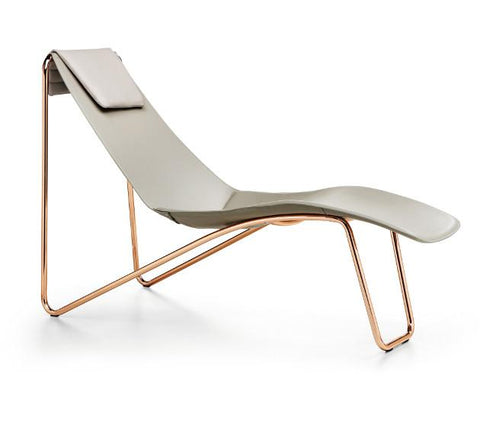 Apelle CL M CU Chaise Lounge by Midj - Bauhaus 2 Your House