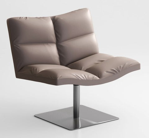 Wave Soft Lounge Chair with Square Base by Tonon - Bauhaus 2 Your House