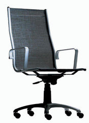 Classic Aluminum Executive Chair - Mesh Seat - Bauhaus 2 Your House