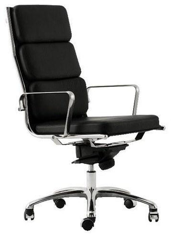 Classic Aluminum Executive Chair - Thick Seat - Bauhaus 2 Your House