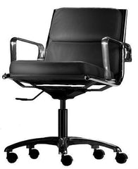Classic Aluminum Management Chair - Thick Seat - Bauhaus 2 Your House