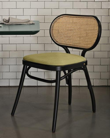 Coates Bodystuhl Bentwood Chair (Upholstered Seat) by GTV - Bauhaus 2 Your House