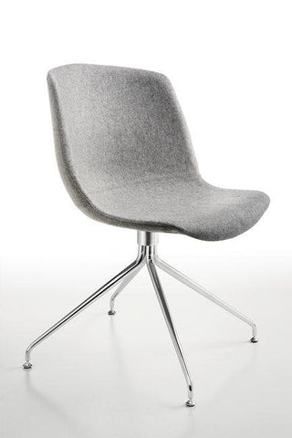 Cocoon Chair Upholstered with Trestle Base - Bauhaus 2 Your House