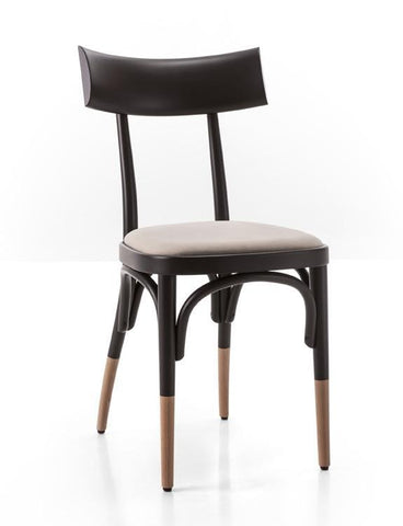 Czech Bentwood Side Chair (Upholstered) by GTV - Bauhaus 2 Your House