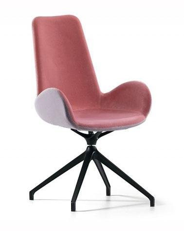 Dalia PA MX TS Swivel Armchair by Midj - Bauhaus 2 Your House