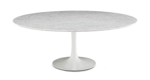 Eero Saarinen Tulip Table - Oval Coffee 35 x 71 Inch - Bauhaus 2 Your House
