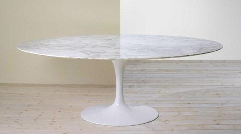 Eero Saarinen Tulip Table - Oval Dining 54 x 96 Inch - Bauhaus 2 Your House