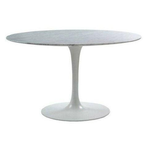 Eero Saarinen Tulip Table - Round Dining 54 Inch - Bauhaus 2 Your House