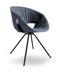 Fl@t Soft Upholstered Chair 9W3.01 by Tonon - Bauhaus 2 Your House