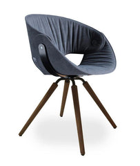 Fl@t Soft Upholstered Chair 9W3.11 by Tonon - Bauhaus 2 Your House