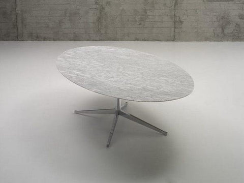 "Florence Knoll 78"" Oval Table Desk - Bauhaus 2 Your House"