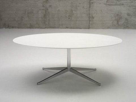 "Florence Knoll 96"" Oval Table Desk - Bauhaus 2 Your House"