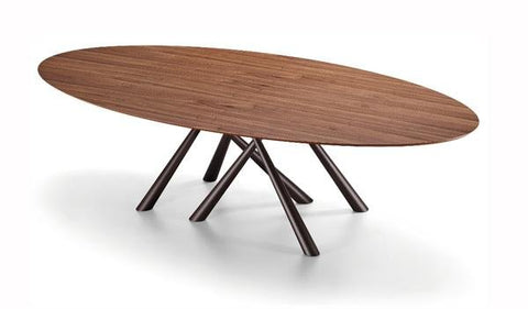 Forest Elliptical Dining Table by Midj - Bauhaus 2 Your House