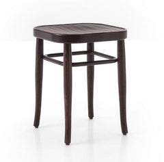 Gebruder Thonet Vienna 144 Bentwood Stool by GTV - Veneer - Bauhaus 2 Your House