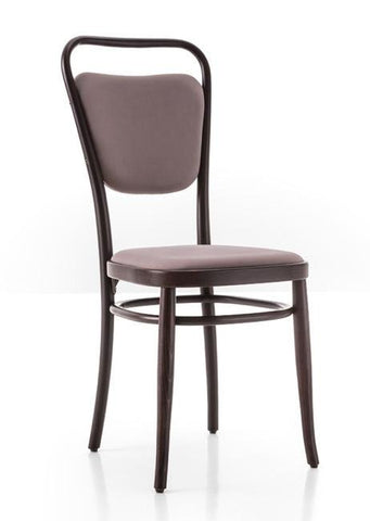 Gebruder Thonet Vienna 144 Closed Back Bentwood Side Chair (Upholstered) by GTV - Bauhaus 2 Your House