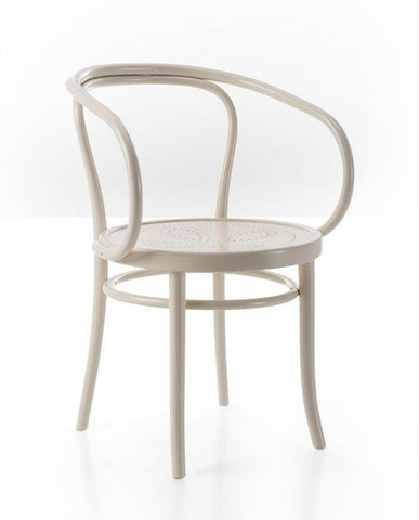 Gebruder Thonet Wiener Stuhl Bentwood Armchair with Perforated Veneer Seat by GTV - Bauhaus 2 Your House