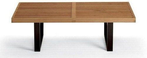 George Nelson Two Seat Platform Bench - Bauhaus 2 Your House
