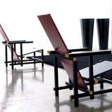Gerrit Rietveld Red and Blue Armchair - Bauhaus 2 Your House