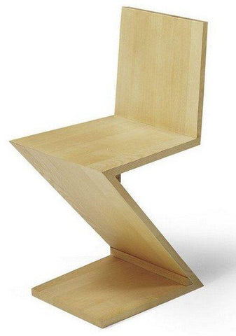 Gerrit Rietveld Zig Zag Chair - Bauhaus 2 Your House